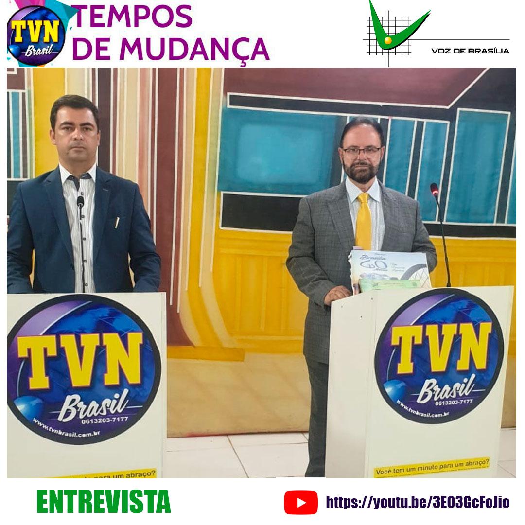 Entrevista TVN Brasil - Tempos de Mudança