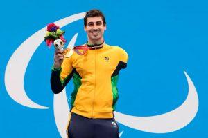 Talisson Glock fatura seu primeiro ouro nos 400m livre em Tóquio